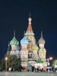 St Basils at night