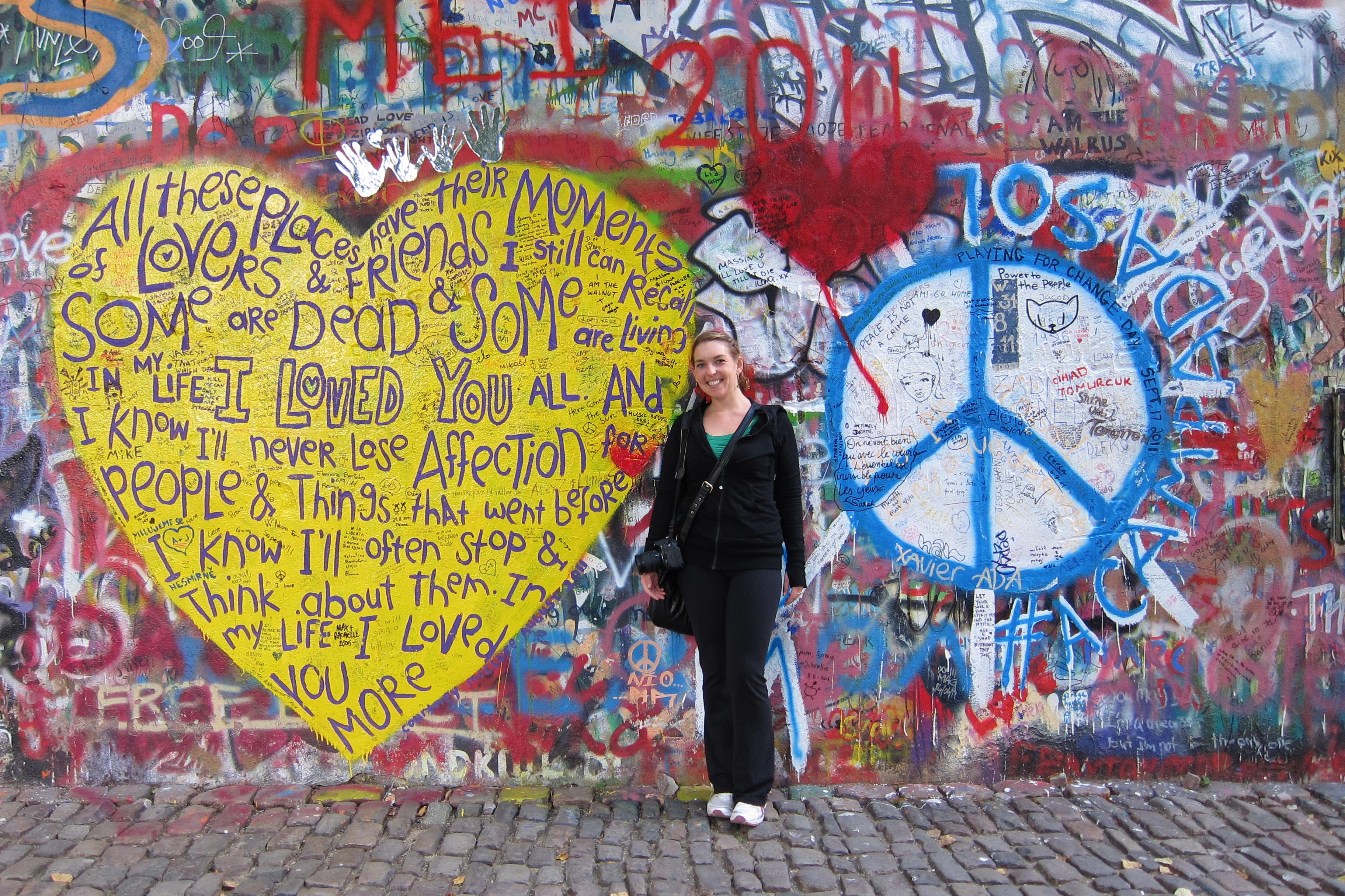 The John Lennon Wall- PRAGUE – Wanderlust~
